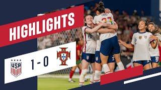USWNT vs. Portugal: Highlights - June 10, 2021