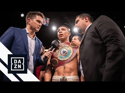Jaime Munguia Post-Fight Interview: 154 or 160?