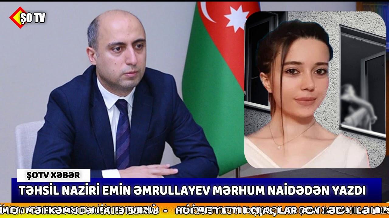 Təhsil naziri Bakıda intihar edən müəllim barədə paylaşım edib