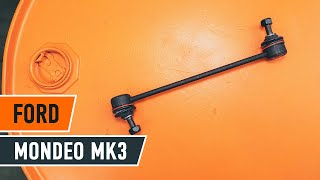 Underhåll Ford Mondeo bwy - videoinstruktioner