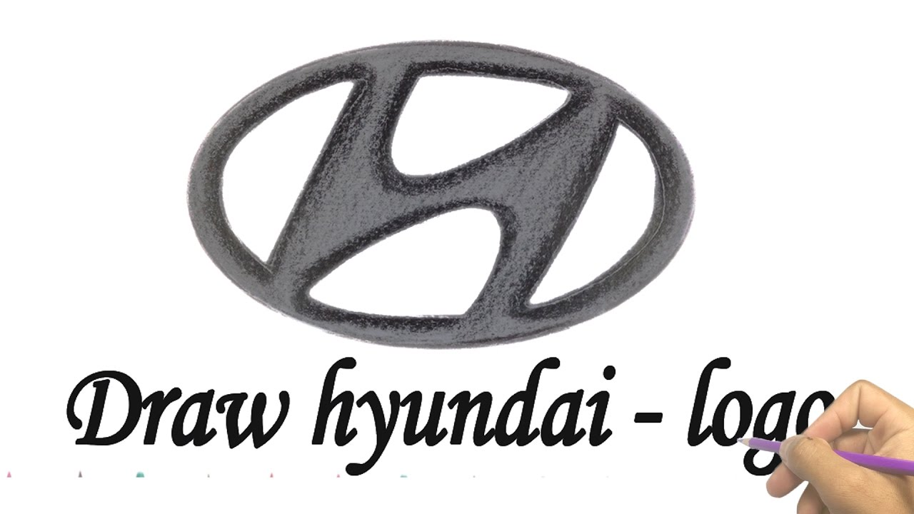 How To Draw Hyundai Logo Looking For Hyundai Logo Youtube Videos