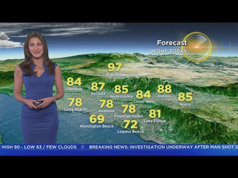 Danielle Gersh's Weather Forecast (June 19)