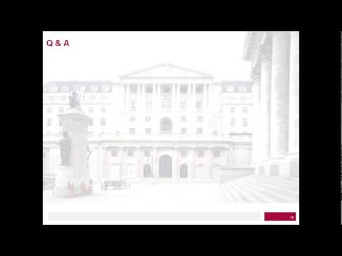 Bank of England webinar