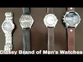 Classy Brands of Men's Watches