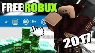 HOW TO GET FREE ROBUX ON ROBLOX 2017!! *Must Watch* ✅ ✅ ✅