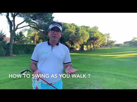 FlowMotion Golf: Swing As You Walk !
