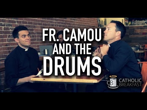 Fr. Camou and the Drums