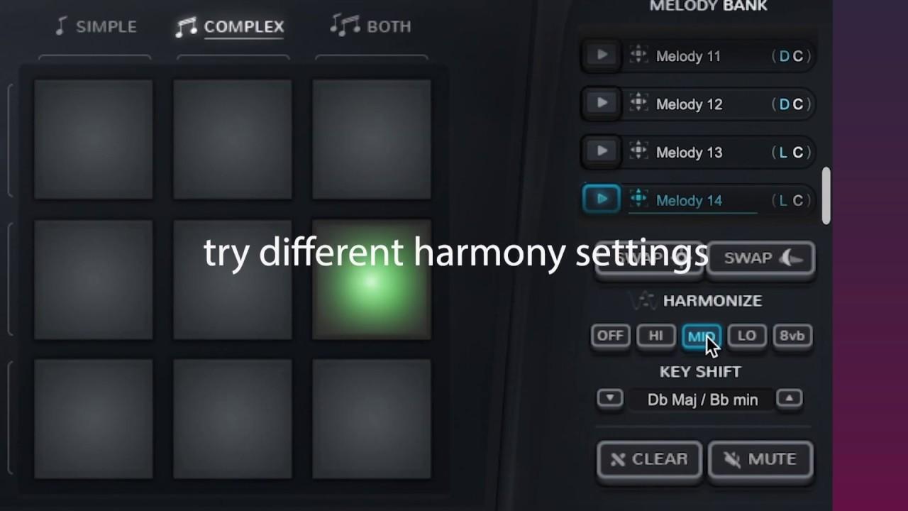 MelodySauce - MIDI melody generator VST