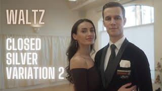 Waltz Basic Syllabus Closed Silver Variation 2 by Iaroslav and Liliia Bieliei