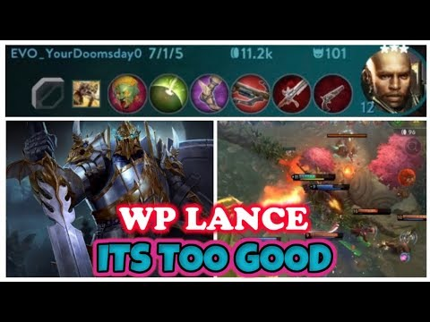 TOO STRONG TO STOP PLAYING WP LANCE BEST HERO TOP LANE - VAINGLORY 5V5 TIPS