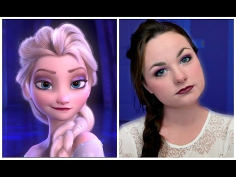 Frozen's Elsa Inspired Makeup