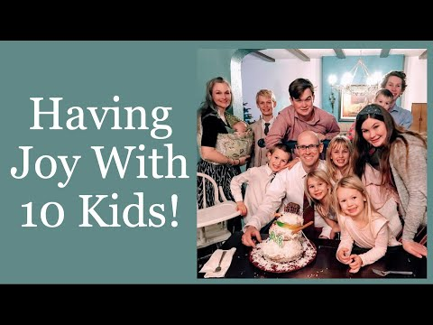 Having Joy With 10 Kids! - Kendra Tierney Interview (Part 2)