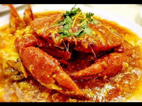 Singapore Chilli Crabs Recipe Crab With Sweet Spicy Chili Sauce Youtube