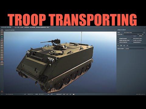 Tilly's Tutorials | DCS Mission Editing | Vid #2 Troop Transport