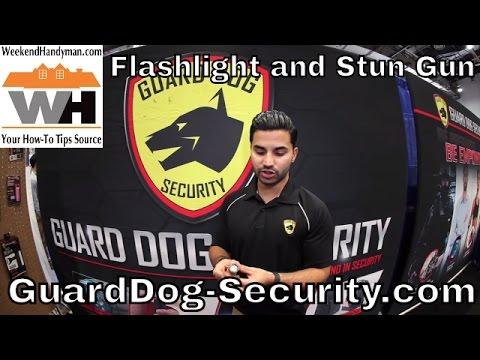 guard-dog-security-light-and-stun-gun-combo- -weekend-handyman- -#yourguarddog