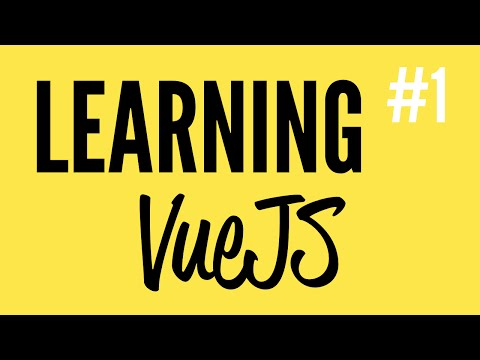 Daily Code #36 - Learning VueJS (Part 1)