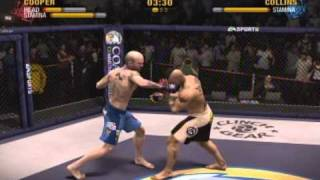 EA Sports MMA Game KO Highlight Montage