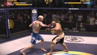 EA Sports MMA Game KO Highlight Montage