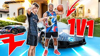 FaZe Rug 1v1 For His Custom LAMBORGHINI !!