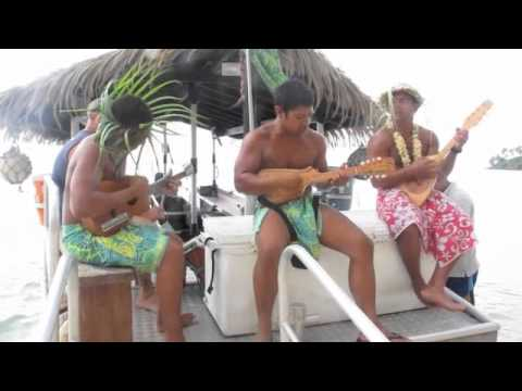 Polynesian musik on the Cook Islands