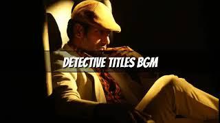 Thupparivaalan (or) Detective Title card bgm -Vishal - Arrol