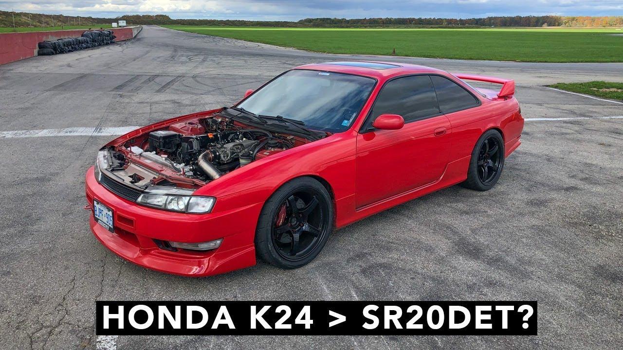 Honda K-Swap Nissan 240SX Track Review