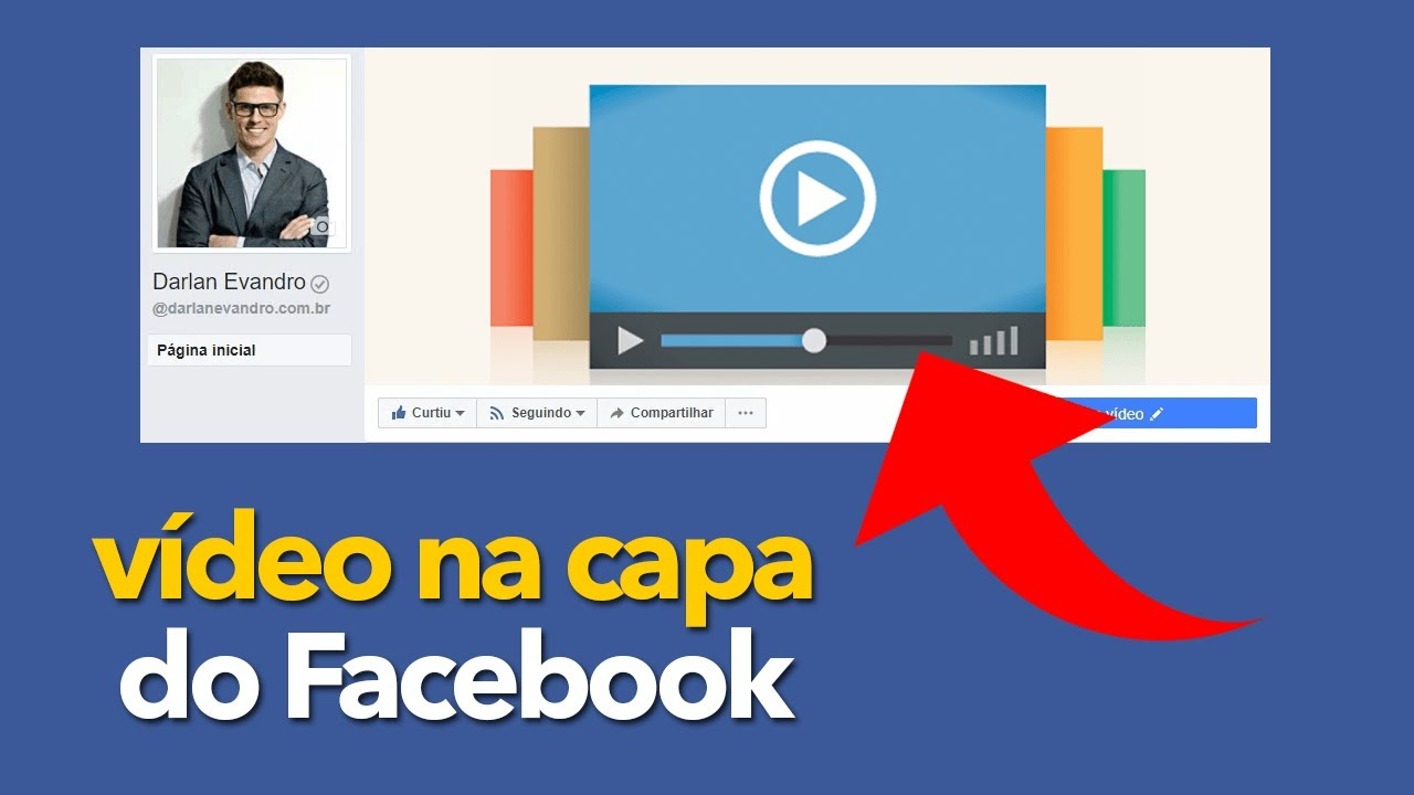 Capa Do Youtube 2048x1152: Vídeo Na Capa Do Facebook