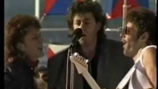 "Jo Burt - Bob Geldof  ""Love Like A Rocket"" Ark Royal"