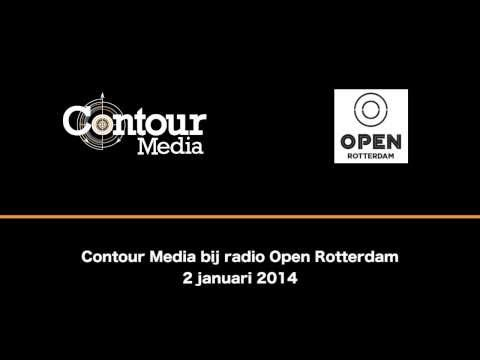 Contour Media bij radio Open Rotterdam