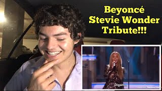 Beyoncé, Ed Sheeran & Gary Clark Jr. - Stevie Wonder Tribute | REACTION