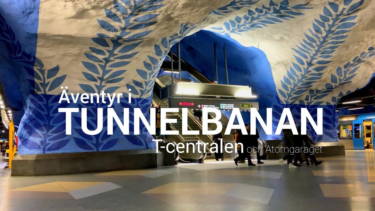 Äventyr i Tunnelbanan del 7: T-centralen och atomgaraget