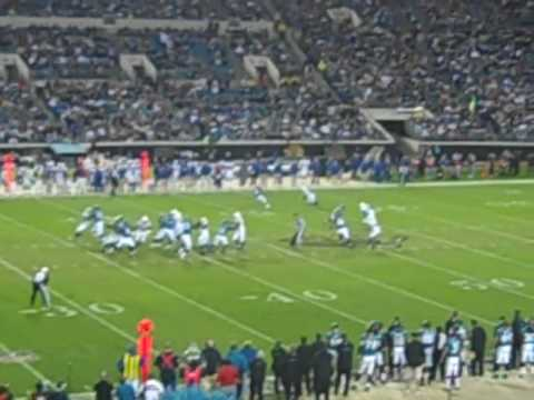 Catch at coach - Jags v Colts 2009.MP4