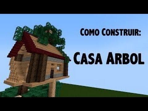 Como hacer una casa de arbol sencilla y facil 3 minecraft for Como aser una casa