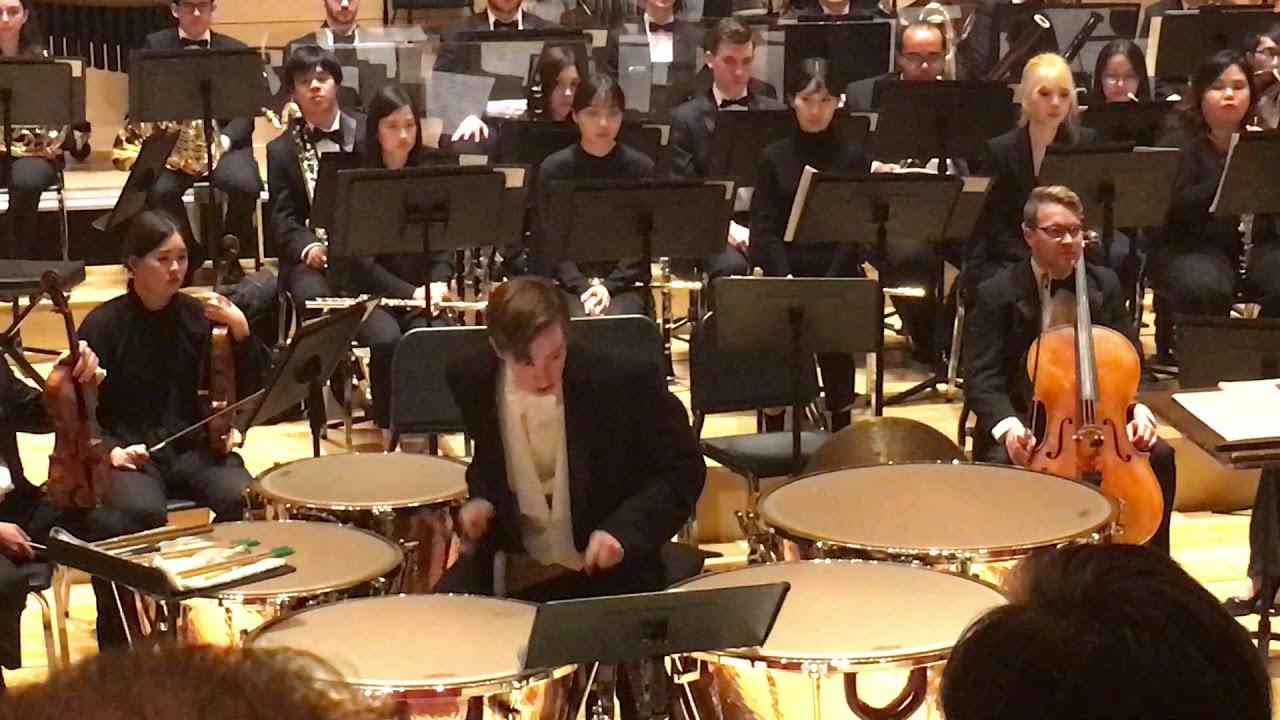 Michael Daugherty S Raise The Roof Timpani Concerto Youtube