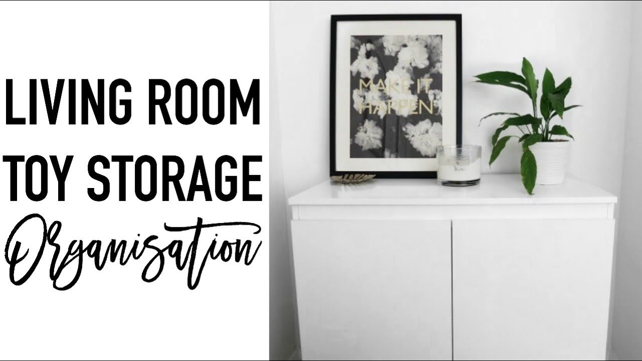 Toy Storage In Living Room Ideas Colour Schemes For Rooms Kids Organisation Decluttering Minimalisation