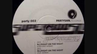 Superboost!   Allright On The Night 1999