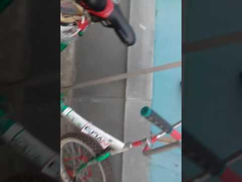 Тюнинг велосипеда светодиодной лентой