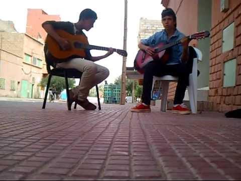 Aziz moutassim , Baadr astaoui , instrumental guitar