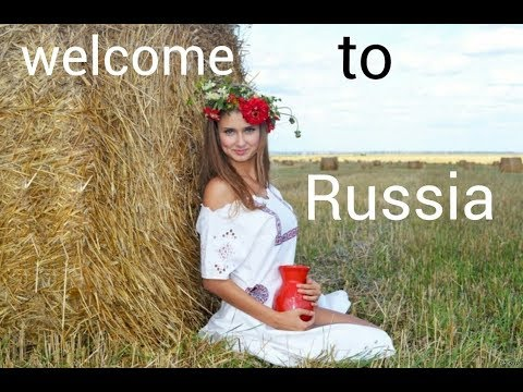 Beauty of Russia! Advertising of Russia for foreigners welcone to expat