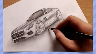 2016 Mercedes Benz AMG GT | Speed Drawing