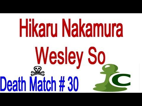 ☠ GM Hikaru Nakamura vs GM Wesley So Death Match # 30 ☠ 3 Hours of Chess Blitz & Bullet on Chess.com
