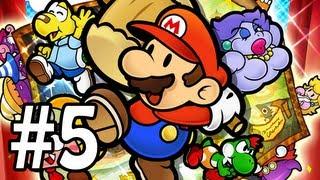 Paper Mario : La Porte Millénaire Let's Play - Episode 5 [Live]