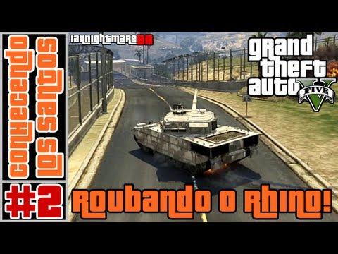 Download] GTA 5 Conhecendo Los Santos 2 Roubando O Tanque De Guerra ...