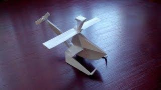 Как сделать вертолет из бумаги (Helicopter origami)(Бумага: офисная А3, 80г/м²; Пропорции: делаем квадрат из листа A3; Автор схемы: Protogenius; На видео показана инструк..., 2014-06-03T08:07:33.000Z)