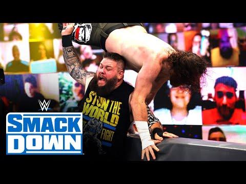 KO vs. Zayn - Last Man Standing Money in the Bank Ladder Qualifying Match: SmackDown, July 2, 2021