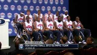 2012 USA Basketball Olympic Team Introduction