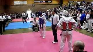 Gary Kay  best golden point Manchester spring Taekwondo Open 2015