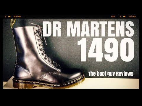 Dr. Martens # 1490 [ The Boot Guy Reviews ]
