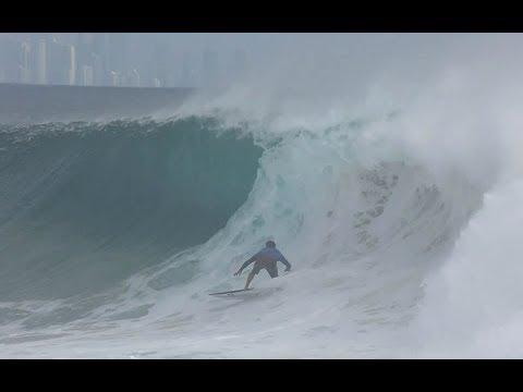 18/02/2018 Cyclone Gita / Kirra barrel session