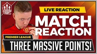Manchester United 2-1 Leicester City | POGBA and SHAW Goals Wins It!